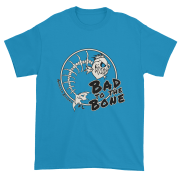 Bad to the Bone Ultra Cotton T-Shirt Sapphire