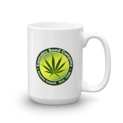 Cannabis Seed Company Mug Handle-on-Right 15oz