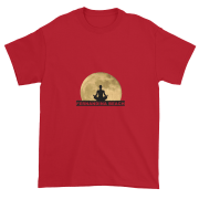 Full Moon Lotus Ultra Cotton T-Shirt Cherry-Red