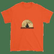 Full Moon Lotus Ultra Cotton T-Shirt Orange