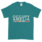 Occupy Amelia Ultra Cotton T-Shirt Jade-Dome