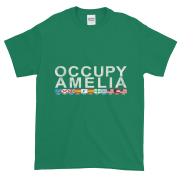 Occupy Amelia Ultra Cotton T-Shirt Kelly