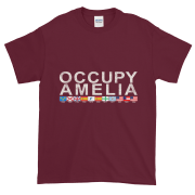 Occupy Amelia Ultra Cotton T-Shirt Maroon