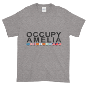 Occupy Amelia Ultra Cotton T-Shirt Sport-Grey