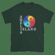 Yin & Yang Ultra Cotton T-Shirt Forest