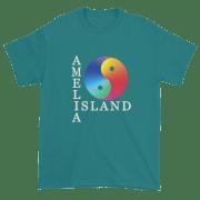 Yin & Yang Ultra Cotton T-Shirt Jade-Dome