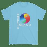 Yin & Yang Ultra Cotton T-Shirt Sky White Text