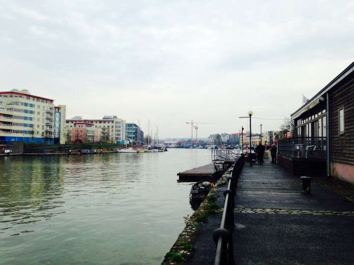 Bristol Harbourside - Cranes