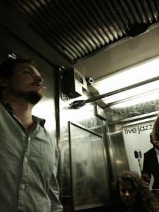 New York Subway Interior