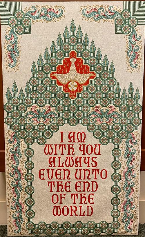 Amelia Plantation Chapel - Pentecost Banner