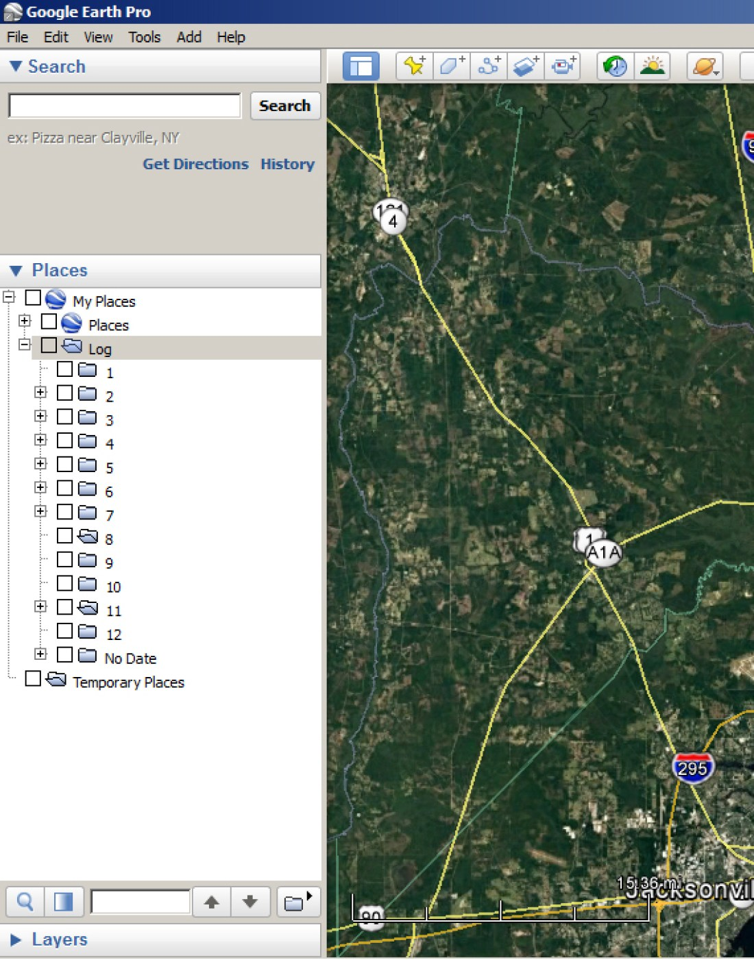 How to use Google Earth as a Fishing Log 2