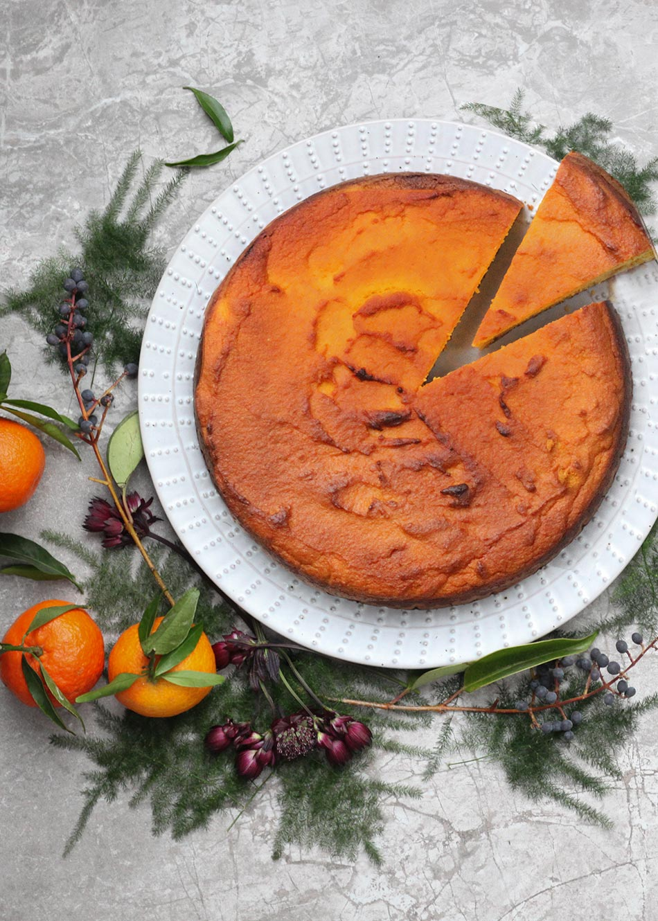 Clementine, Honey & Olive Oil Cake, Amelia Freer