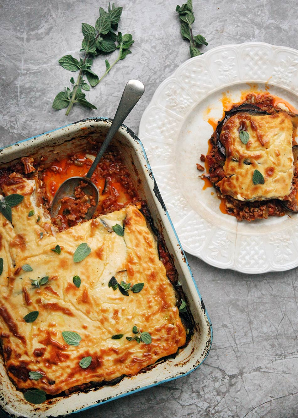 Moussaka, Amelia Freer