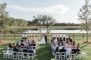 Wishing Well Barn Wedding Plant City Florida