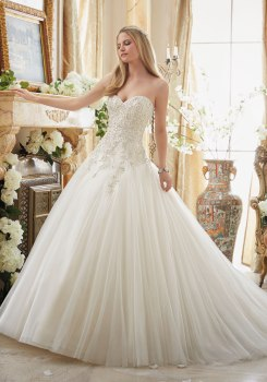 MORI LEE 2892 - SIZE 14 - WAS £1575 - NOW £450