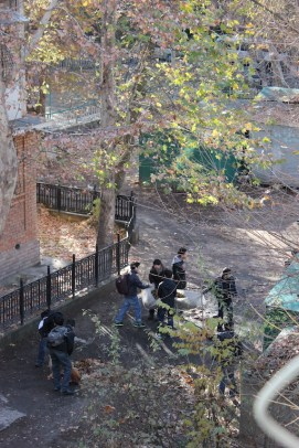 Tachkent en automne