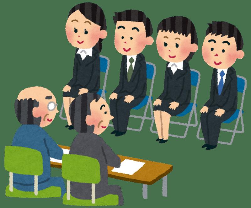 Non seulement vous pourriez être amenés à faire face à plusieurs interlocuteurs... Mais vous pourriez être plusieurs à passer l'entretien en même temps! source