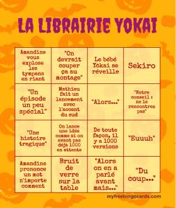 Librairie Yōkai Bingo