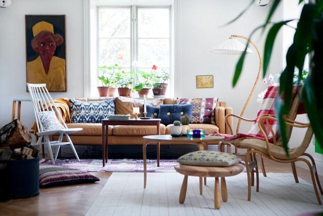 Höstmys, Höst i vardagsrummet, höstfärger