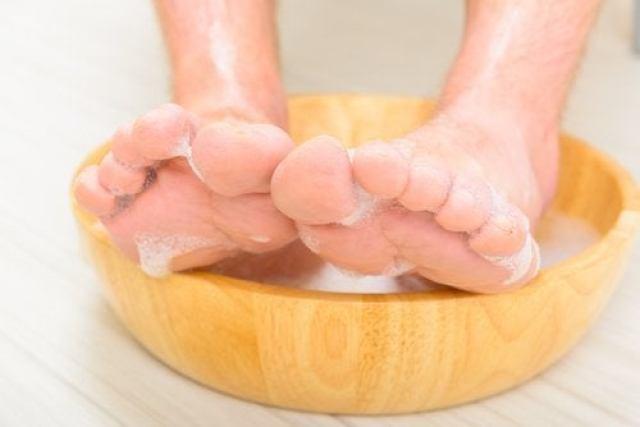 bain des pieds