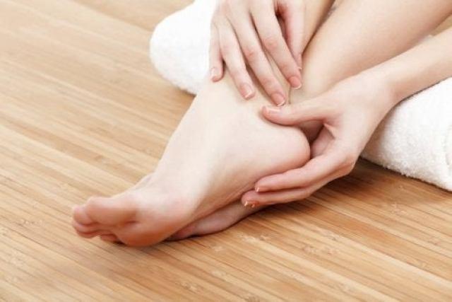 pieds gonflés