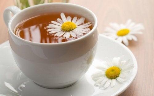 thé à la camomille contre l'insomnie
