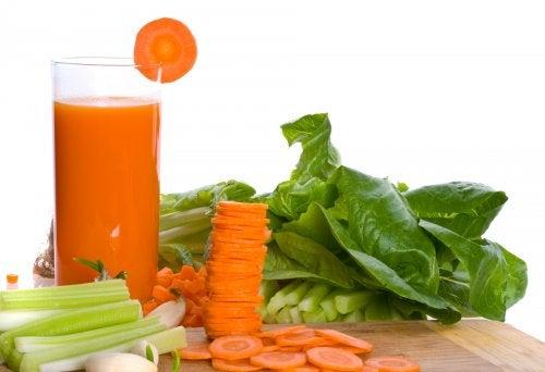 Jus de carottes