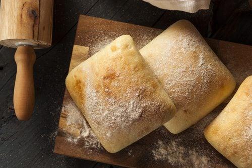 Les pains bruns