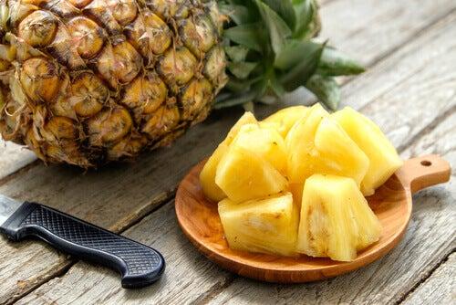 l'ananas pour lutter contre le syndrome prémenstruel