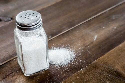 propriétés du sel de table commun