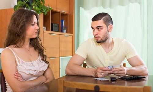 couple en conflit