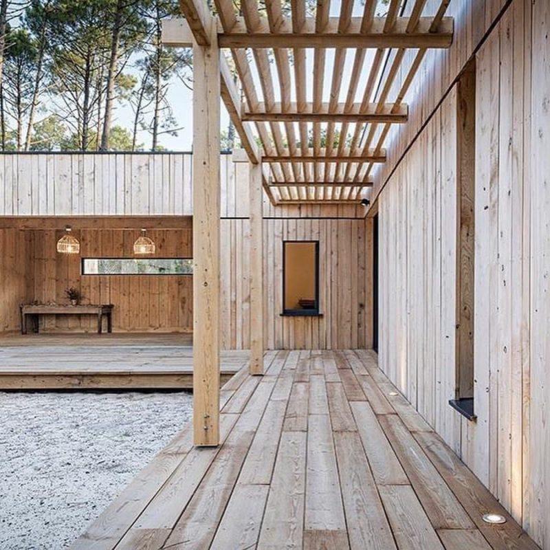 terrasse châtaignier vieillissement après 5 ans, un bois local qui vieilli bien pour votre terrasse