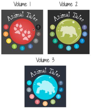 Animal Tales- Volumes 1-3