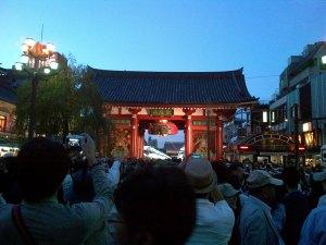2014三社祭ー宮入ー雷門