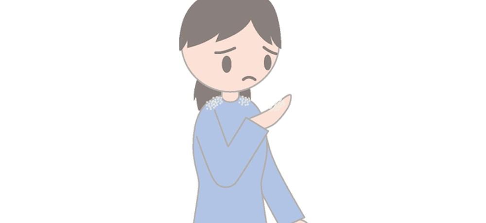 フケ症。フケの原因と予防法。