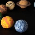 太陽系惑星のクレイ