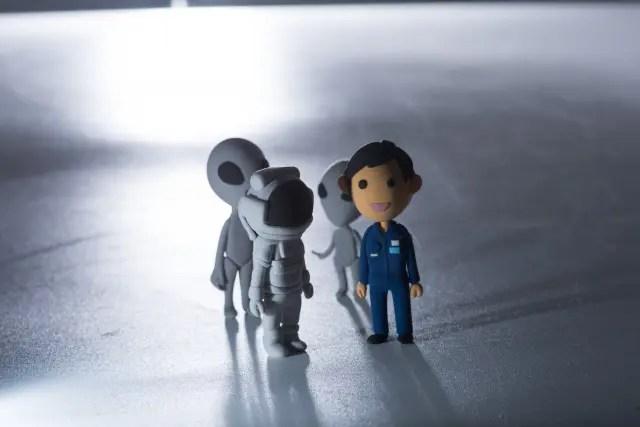 宇宙人と人間のコンタクト