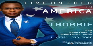 """New Music: Thobbie Live On Tour In America Releases New Single """"Worship Diary"""""""