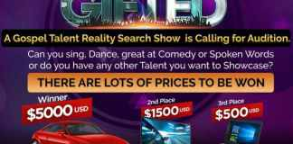 Gospel News: $5,000 Up for grabs at The Gifted Show | AmenRadio.net