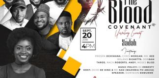 "Gospel Event: Yadah To Host Concert And Release ""The Blood Covenant"" EP 