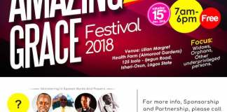 Amazing Grace Festival 2018 Hosted By Solomon Johnson