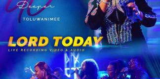 Gospel Music + Video: Lord Today [Live] - Toluwanimee | AmenRadio.net
