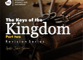 Download Apostle Joshua Selman Mp3: The Keys of the Kingdom