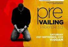 Fresh Oil Seminar: Prevailing Prayers (Part 3) - Tosin Affinnih