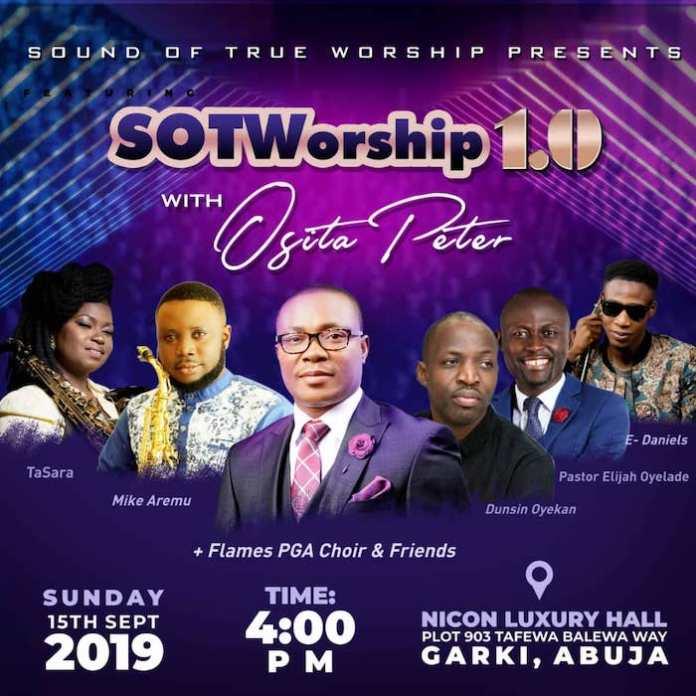 Album: Sound of True Worship [My Offering] - Osita Peter - SOTWorship 1.0