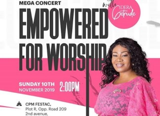 Empowered For Worship (Mega Concert) - Dera Getrude
