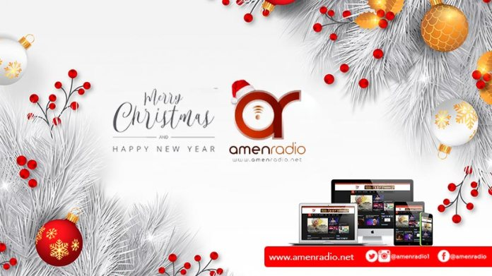 AmenRadio Merry Christmas 2019