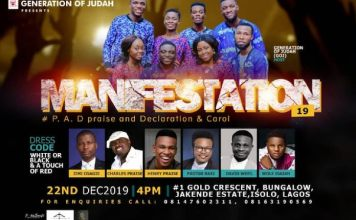 Manifestation 2019 - Generation of Judah