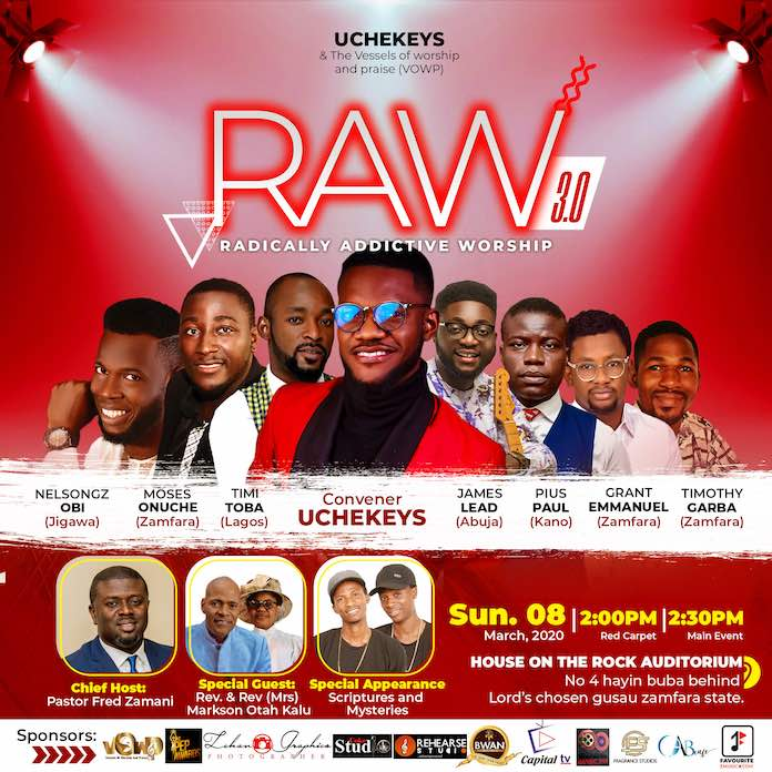 Event: RAW 3.0 Zamfara Edition - Uchekeys
