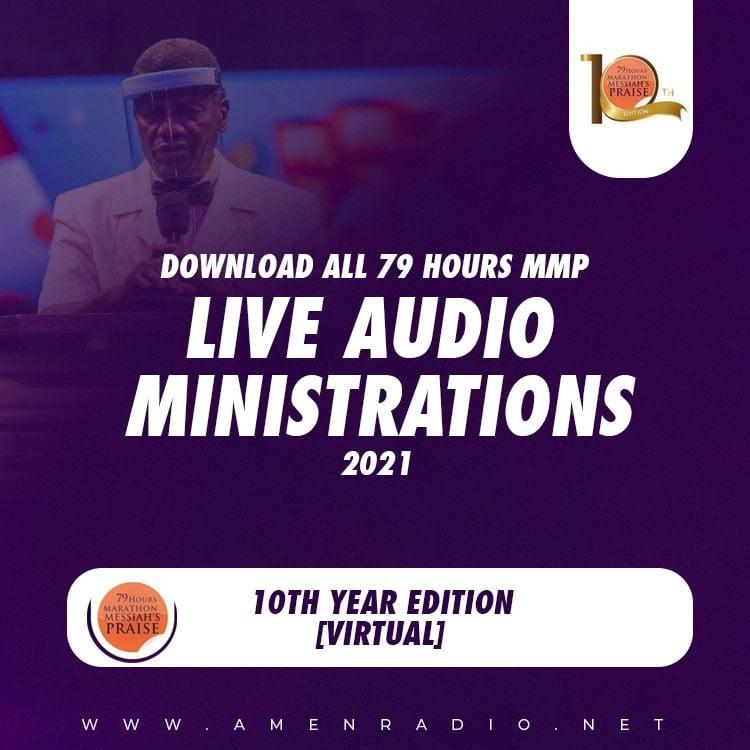 Download All RCCG 79 Hours Marathon Praise Worship 2021